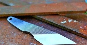 Способы изготовления ножа из напильника