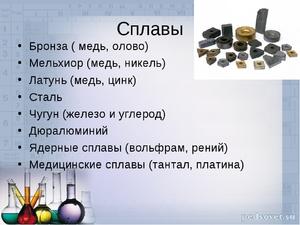 Формула бронзы в химии