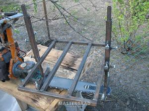 Пошаговая инструкция изготовления пилорамы